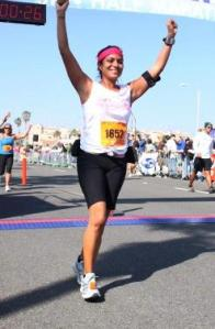 My 1st ever marathon-Surf City 2009