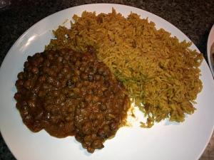 lentils rice