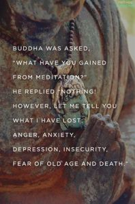gained from meditation